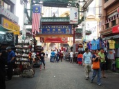 Back to KL and Petaling Street in September last week.