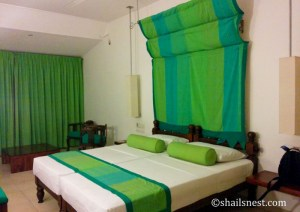The room I shared with Sandhya